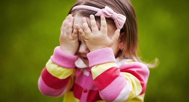 خجالتی بودن کودک